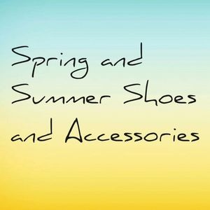 Spring and Summer Shoes Accessories